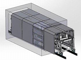 矩形隧道方形模板台车 gtak1004 通用格式 3D图纸 三维模型