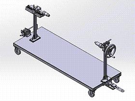 汽车仪表台分装台车 gtak1006 通用格式 3D图纸 三维模型