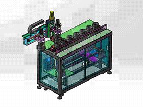 输送带带下料机械手 RBAE2023 Solidworks 格式 3D图纸 三维模型