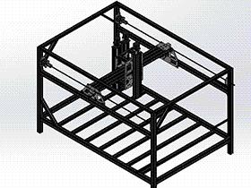 龙门架式送料平台 RBAE2026 Solidworks 格式 3D图纸 三维模型