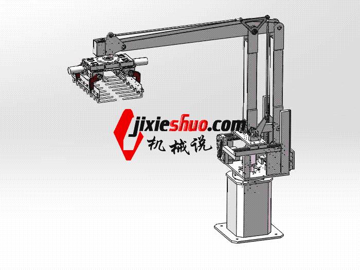 搬运码垛机器人 rbaf2001 Solidworks 格式 3D图纸 三维模型