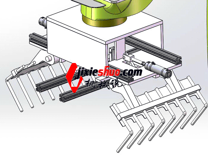 自动码垛机器人3D图纸 K276 rbaf2004 Solidworks 格式 3D图纸 三维模型
