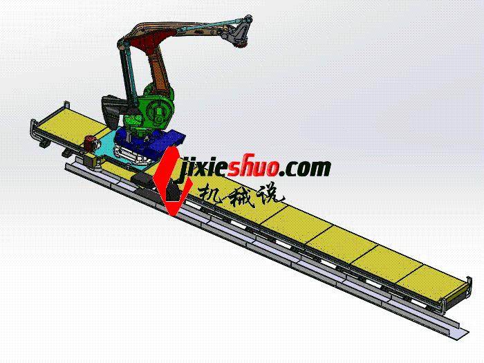 ABB机器人3D图纸 k631 rbaf2005 Solidworks 格式 3D图纸 三维模型