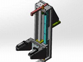 气动纵向取料机械手 RBBB1016 STEP格式 3D图纸 三维模型
