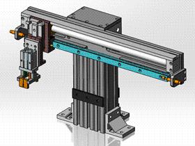 气动取料机械手 RBBB1017 STEP格式 3D图纸 三维模型