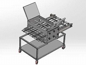 食品输送机 SPJA2001 Solidworks 格式 3D图纸 三维模型