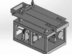 年糕切片机(食品加工设备) SPJA2007 Solidworks 格式 3D图纸 三维模型
