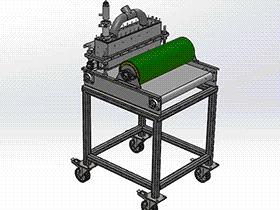 食品加工机模型 SPJA2013 Solidworks 格式 3D图纸 三维模型