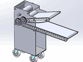压面机 SPJA2019 Solidworks 格式 3D图纸 三维模型
