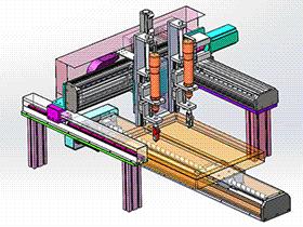 自动锁螺丝机 配置双头螺丝刀 SPLC2007 solidworks格式 3D图纸 三维模型