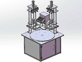 一款螺丝机模型 sple1006 STEP格式 3D图纸 三维模型