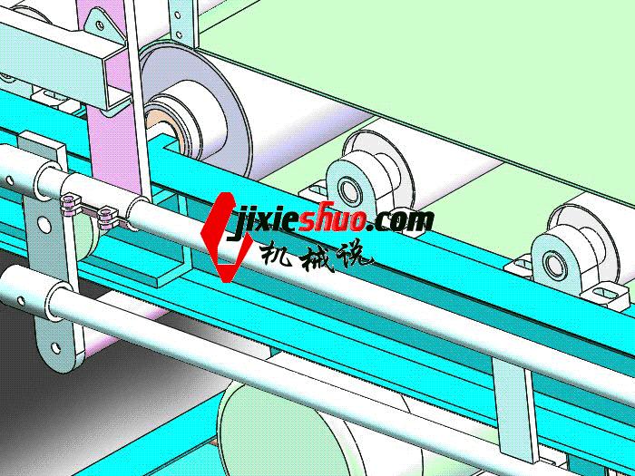 包装输送线 SPSA1019 通用格式 3D图纸 三维模型