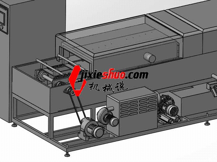 步进式清洗机 SPWB1015 通用格式 3D图纸 三维模型