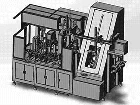 齿条压入清洗设备 SPWB1016 通用格式 3D图纸 三维模型