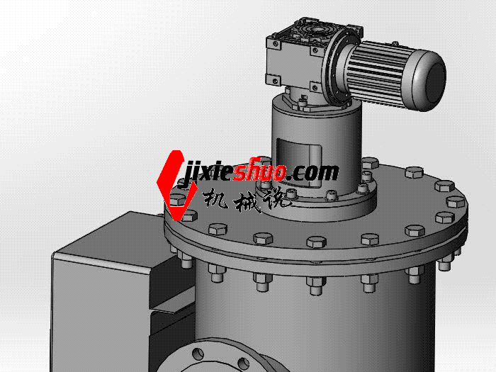 电动刷式自加工过滤器spwb1017通用格式3d图纸三维陶瓷原料模型清洗图片