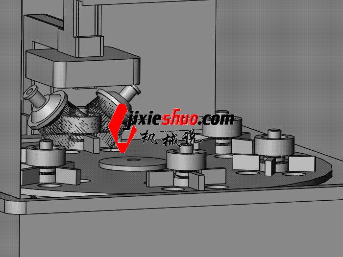六位探伤与清洗机组合 SPWB1018 通用格式 3D图纸 三维模型