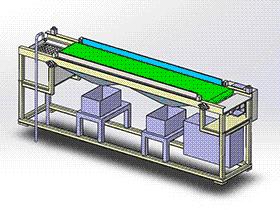 清洗机 SPWB1019 通用格式 3D图纸 三维模型