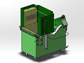 清洗机 SPWB1020 通用格式 3D图纸 三维模型