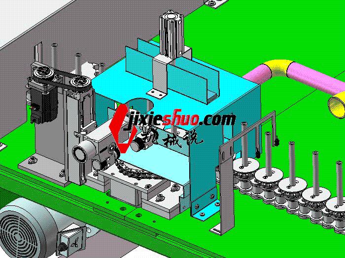 自动循环清洗喷雾机 SPWB1022 通用格式 3D图纸 三维模型