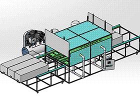 清洗机完整图纸 SPWB1023 通用格式 3D图纸 三维模型