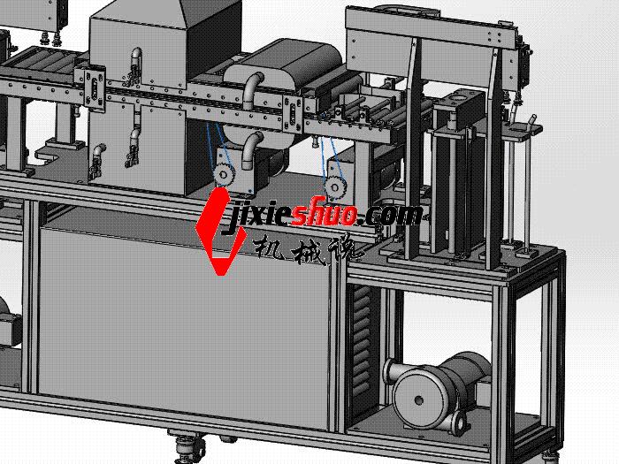 薄片自动清洗机(洗净机) SPWB1026 通用格式 3D图纸 三维模型