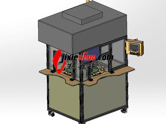 二氧化碳清洗与测试设备 SPWB2019 solidworks格式 3D图纸 三维模型