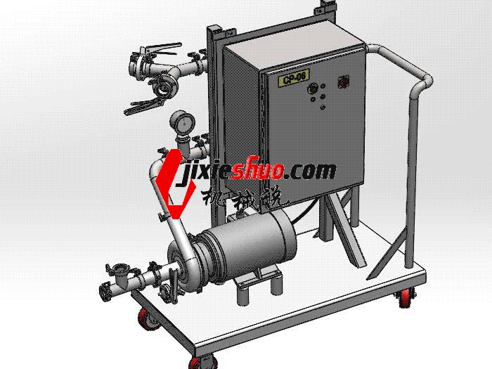 高压清洗车 SPWB2020 solidworks格式 3D图纸 三维模型