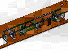 止回输送线 ycaa0003 STEP格式 3D图纸 三维模型