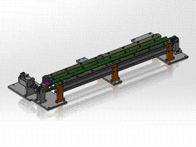 皮带输送单元 ycaa0004 STEP格式 3D图纸 三维模型