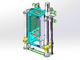 暂存机升降台 ycaa0013 STEP格式 3D图纸 三维模型