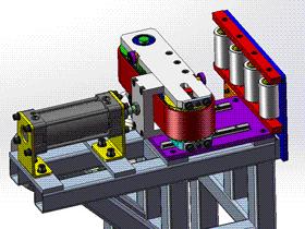 宽度可调输送机 ycaa0019 Solidworks STEP格式 3D图纸 三维模型