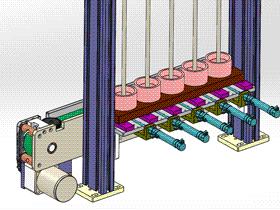 齒輪送料機 ycaa0023 Solidworks STEP格式 3D圖紙 三維模型