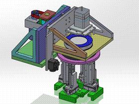 抓料机械手 ycac0011 STEP格式 3D图纸 三维模型