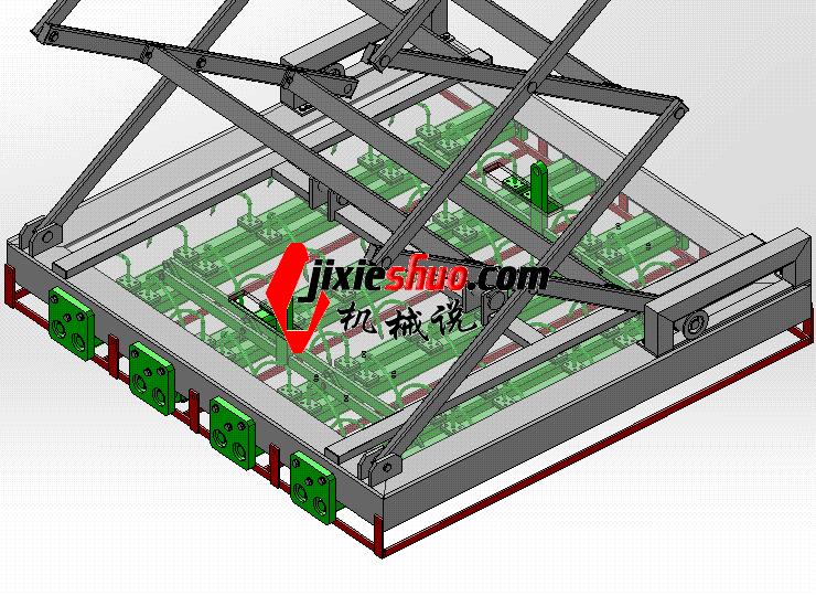 拆包机抓包机械手 ycac0013 STEP格式 3D图纸 三维模型