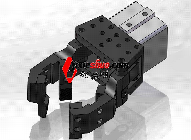 气动机械手 ycac0014 STEP格式 3D图纸 三维模型