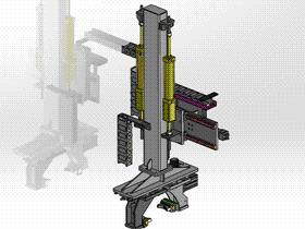圆柱零件提升机 ycac0015 STEP格式 3D图纸 三维模型