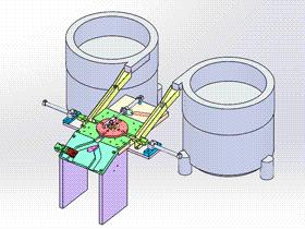 軸承壓蓋自動裝配機 ycae1003 Solidworks STEP格式 3D圖紙 三維模型