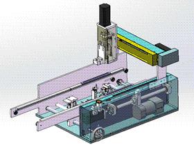 点胶机 ycaf0001 STEP格式 3D图纸 三维模型