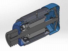 电动机装配 ycal0003 solidworks STEP格式 3D图纸 三维模型