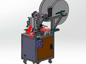 端子检测裁切自动机 zdcd2013 Solidworks 格式 3D图纸 三维模型