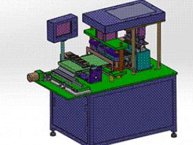 镍氢及锂电圆柱形电池极片裁切机 zdcd2014 Solidworks 格式 3D图纸 三维模型