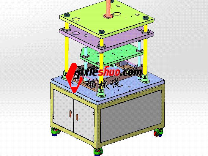 自动裁切机 带工程图 zdcd2019 Solidworks 格式 3D图纸 三维模型