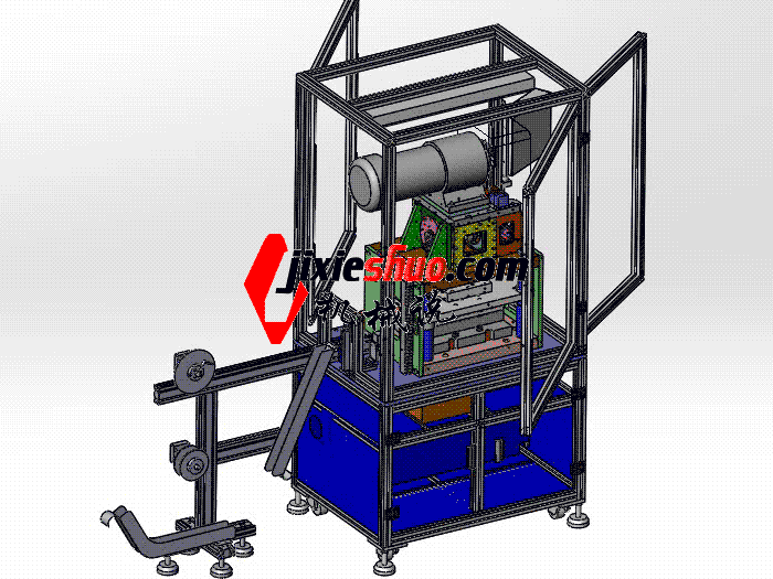 自动冲模裁切端子机 zdcd2020 Solidworks 格式 3D图纸 三维模型